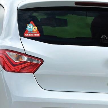 Montruitos a bordo –  Adhesivo para coche