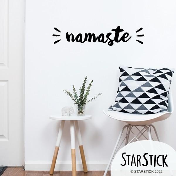 Namaste - Stickers décoratifs phrases et citations