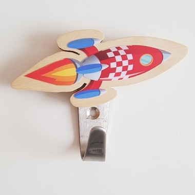 Colgador infantil - Cohete