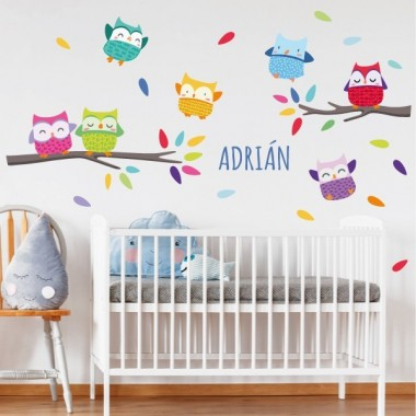 Nom Happy - Sticker pour enfants