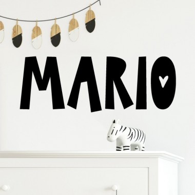 Nom Scandi - Sticker pour enfants