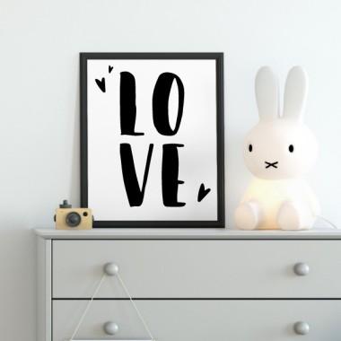 Toiles déco enfant - LOVE