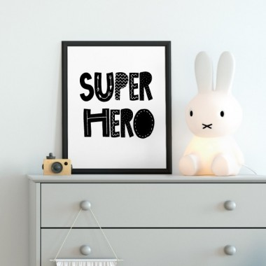 Lámina decorativa - SuperHero