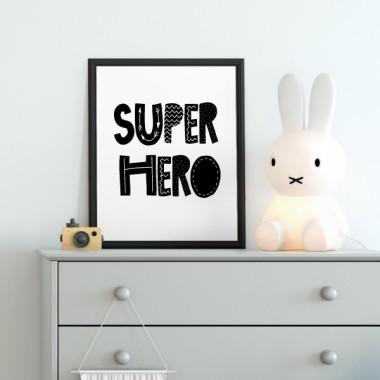 Toiles déco enfant -  SuperHero