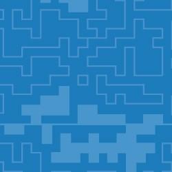 Tetris azul