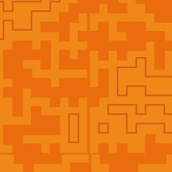 Tetris naranja