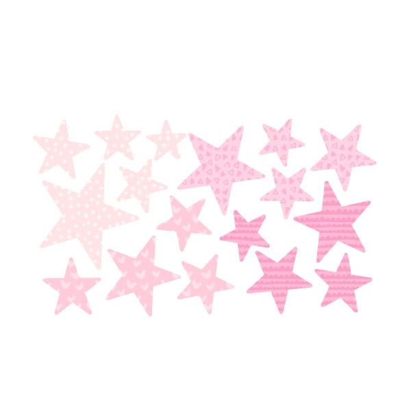 Extra Pack - Estrellas rosa bebé