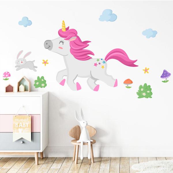 Vinils per a nenes i nens - El passeig de l'unicorn