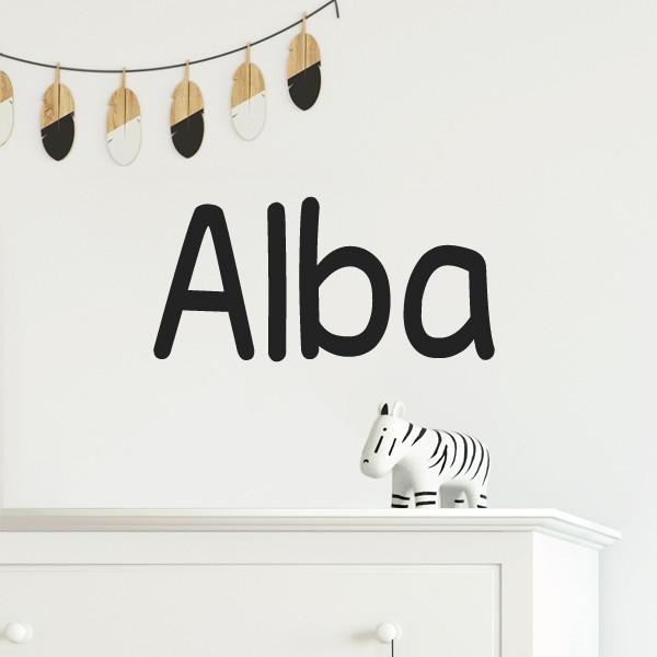 Nombre Play - Vinilos infantiles personalizados