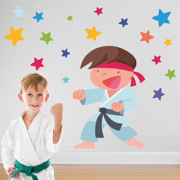 Niño Karate - Vinilos infantiles