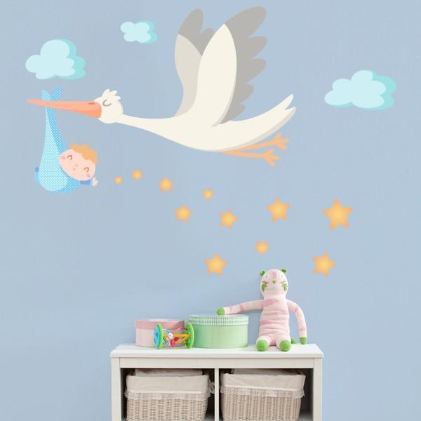Bienvenido bebé - Vinilos infantiles